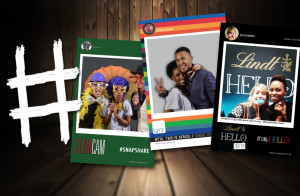 Hashtag Print Station | Photo Booth Hire | GlamCam