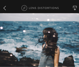 Lens Distortions Photo App | GlamCam