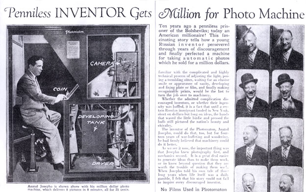 The History of The Photo Booth