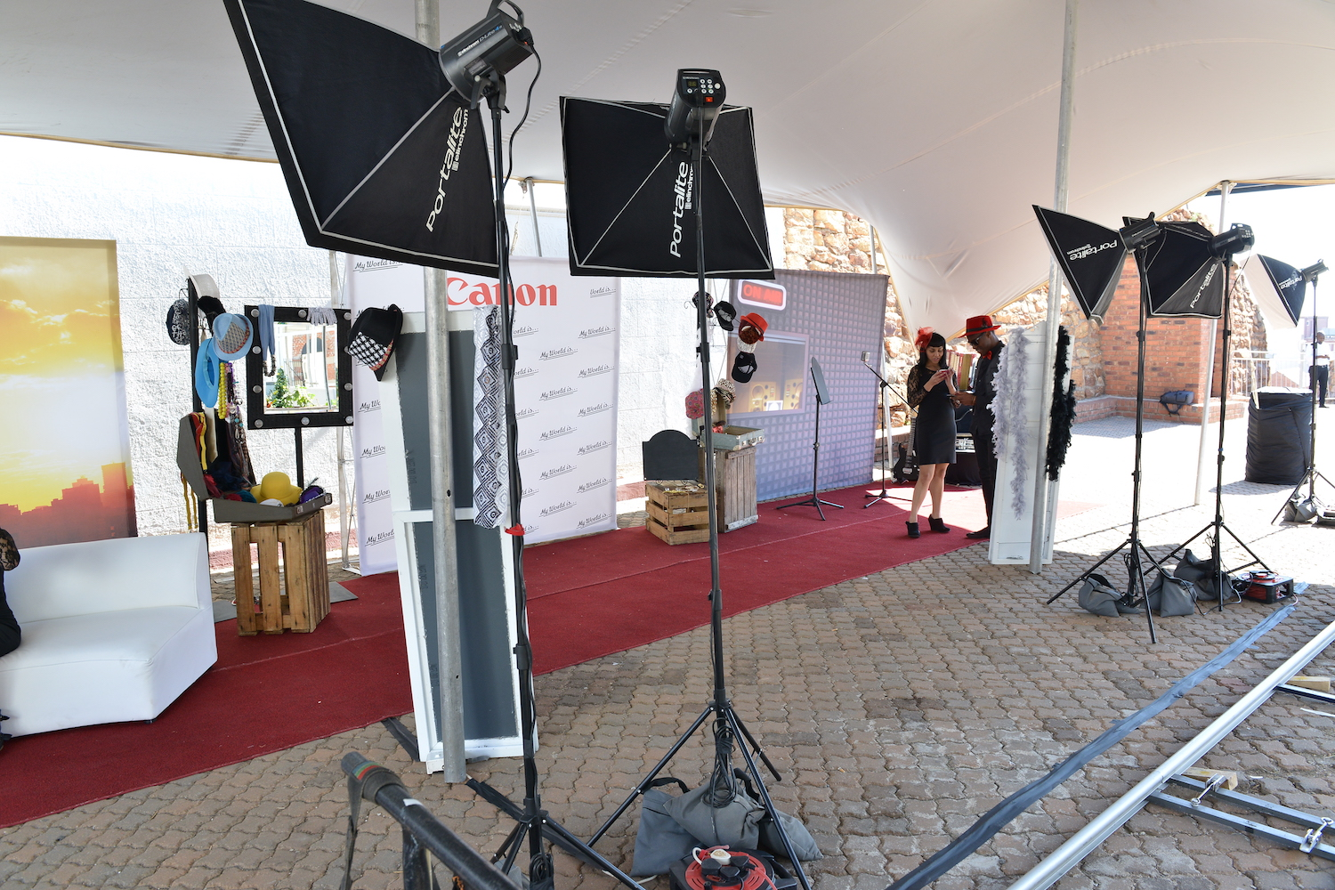 Dolly Photo Booth For Canon's Experiential Activation