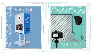 GlamCam Photo Pod And Studio Setup