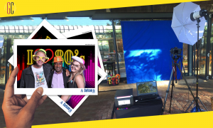 Dartcom Branded Experiential Activation With GlamCam