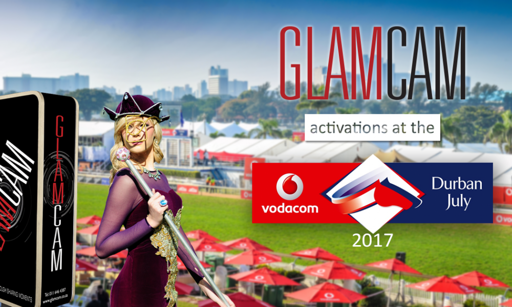 GlamCam Photo Booths All Over The Durban July